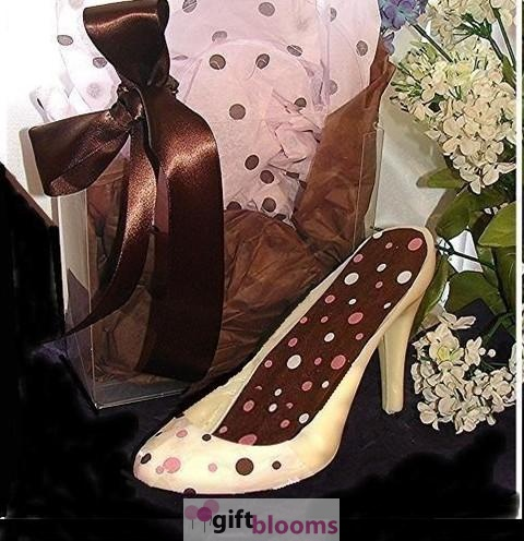 Designer Chocolate Pink And Brown High Heel And Cl